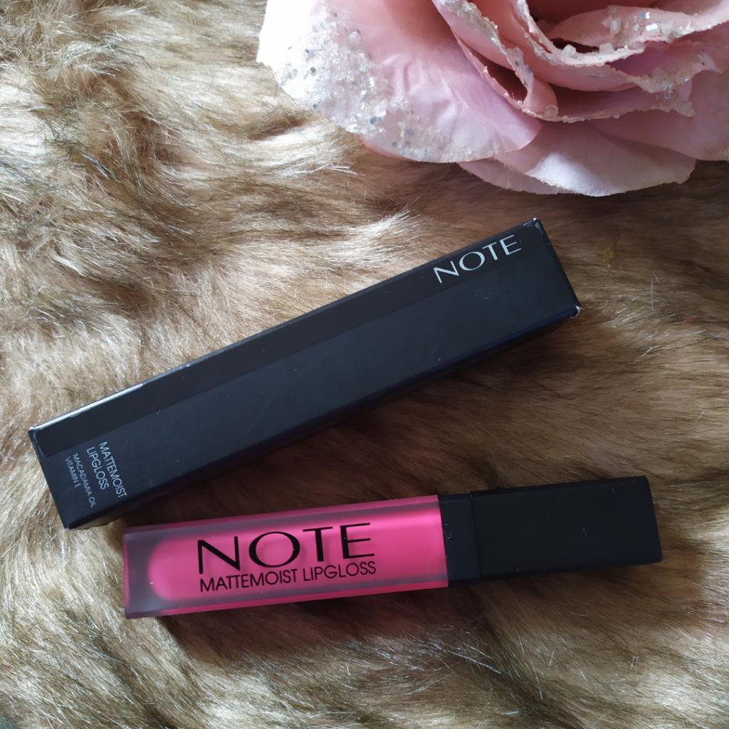 NOTE Cosmetics Mattmoist Lipgloss By Vosje