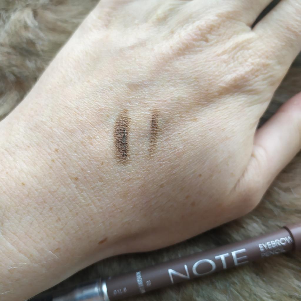 NOTE Cosmetics Eyebrow Pencil BYVOSJE