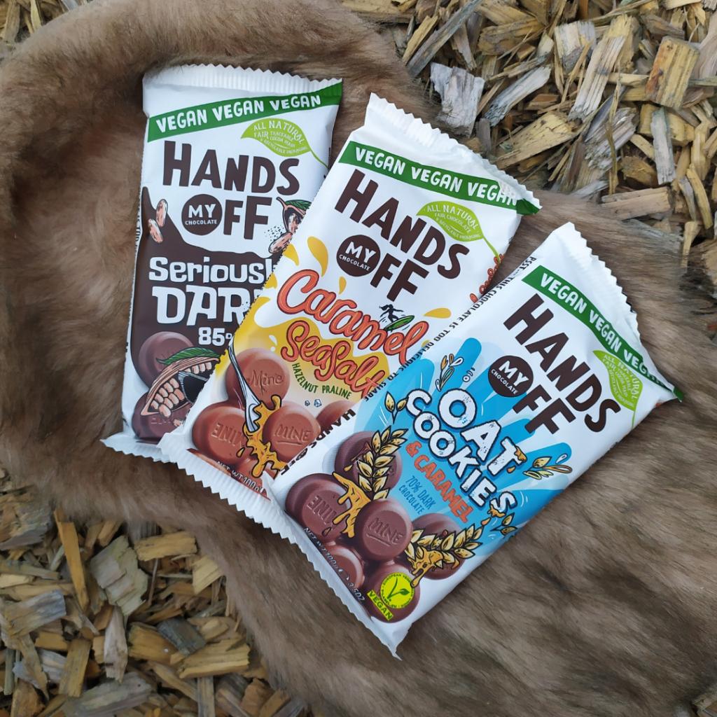 Vegan Hands Off Chocolade by vosje